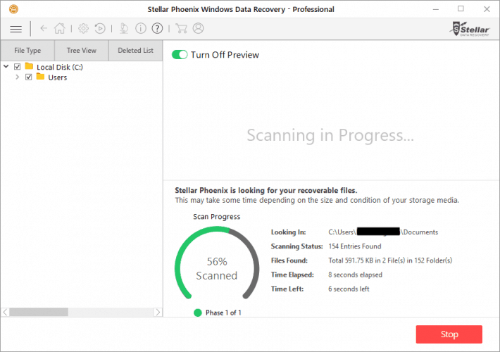 Scanning With Preview Mode On