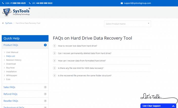 The Company's FAQ