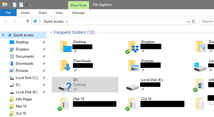 Undetected Hard Drive on Windows